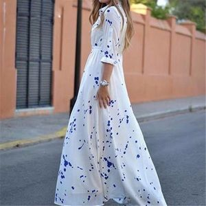 Dresses & Skirts - Long maxi white chiffon dress